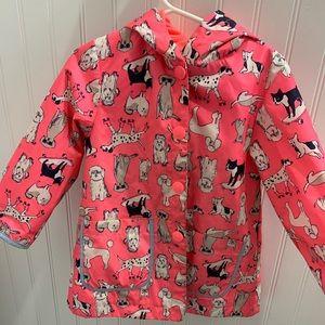 Girls carters raincoat